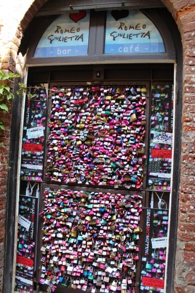 wall of locks
