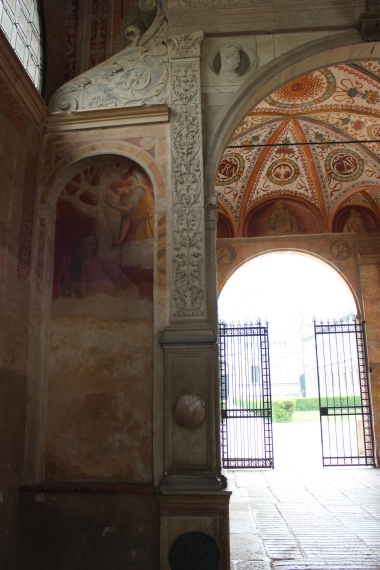 entrance to the Certosa compound