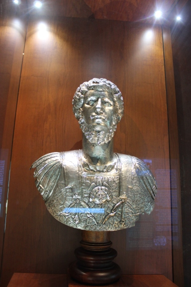 the bust of Lucius Verus