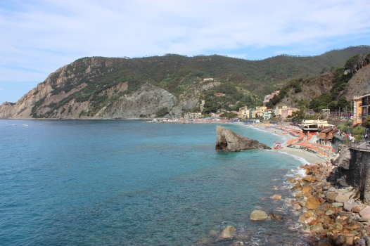 Such beautiful ocean views from Monterosso