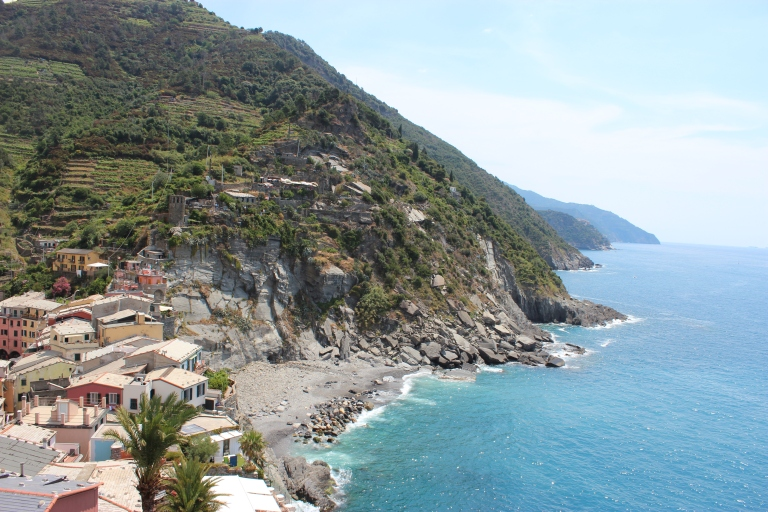 The southern side of Vernazza