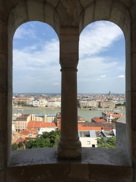 Views of the Danube River and Pest from Fisherman's Bastion