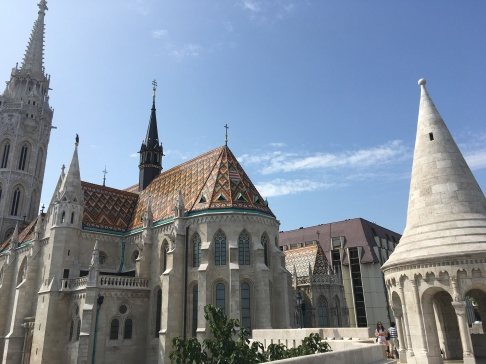View of Matthias Church from Fisherman's Bastion